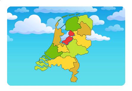 Leren Bank Lederland.Topografie Van Nederland Aardrijkskunde Leren Met De